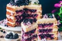 Selling: Blueberry Glaze Cake- Half Kg
