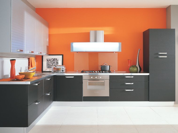 Selling: Orange Modular Kitchen