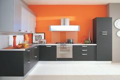 Selling: Orange Modular Kitchen