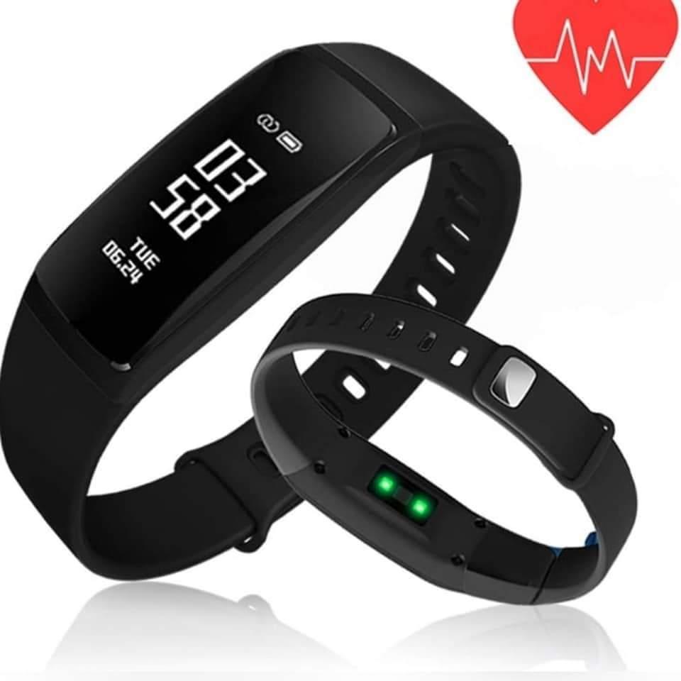 Heart Rate & Blood Pressure Smart Bracelet
