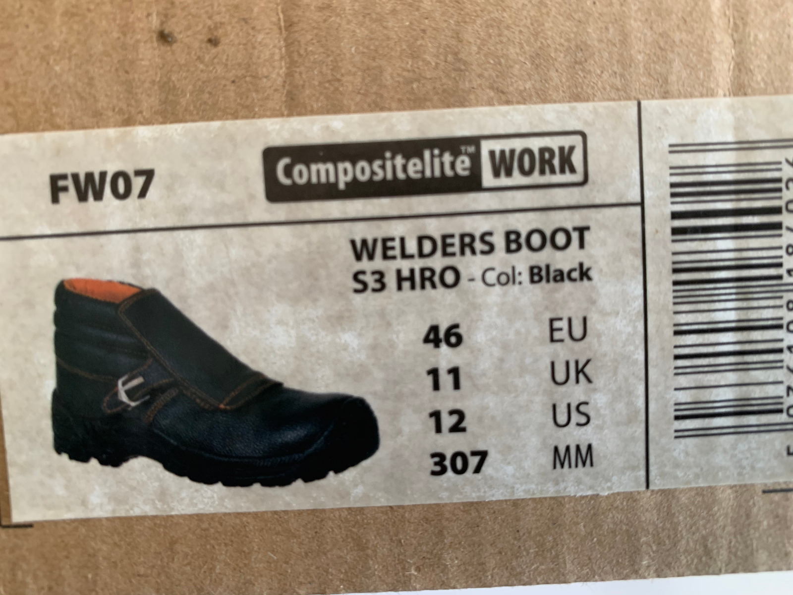 Welders Boot (size 12)
