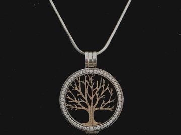 Produkte: Fassung Coin mit Holzeinlage árbol de la vida