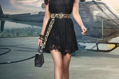 Project without online payment: Mini Black Dress