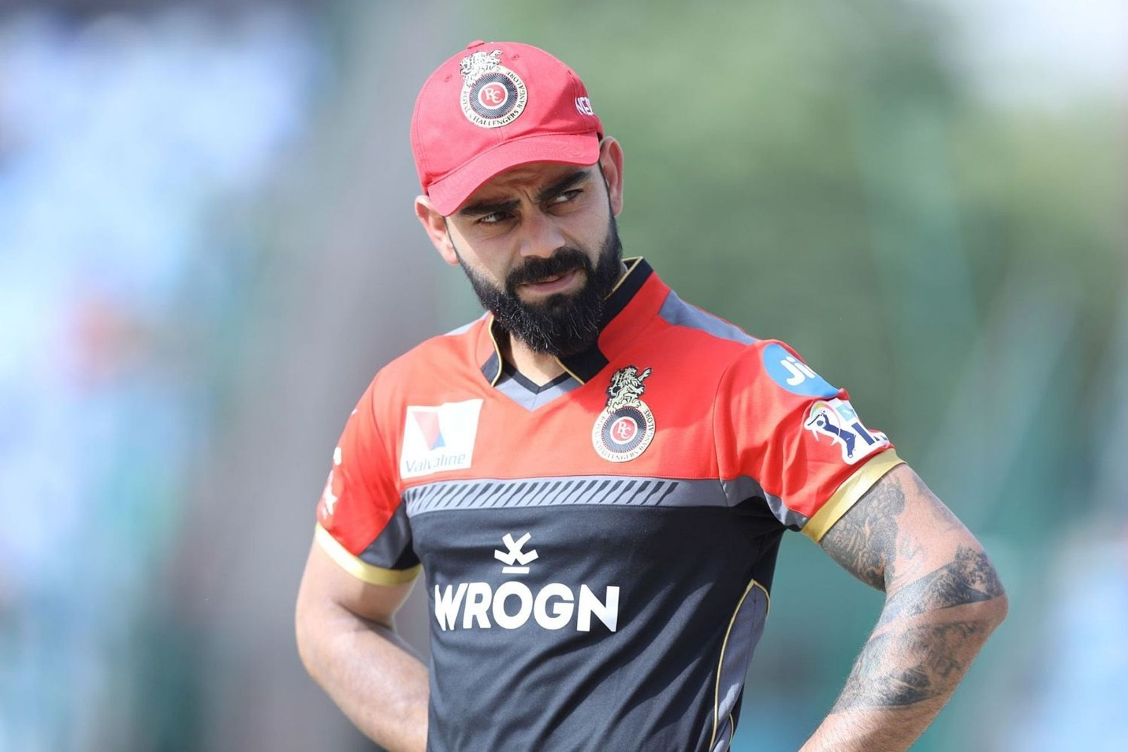 RCB Jersey Powered by Wrong