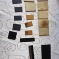 Project without online payment: Spraying small brass pieces to smooth black