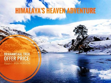 Offering Services: Brahamtaal Trek