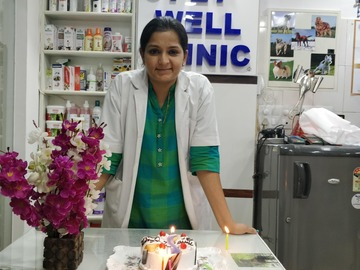 Veterinarian: Dr. Sristi