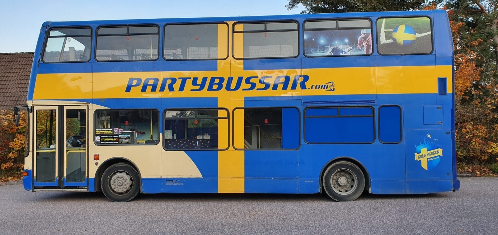 Rullande Sportbar SE - Partybuss
