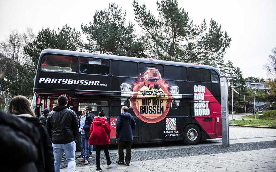 Hip hop bussen