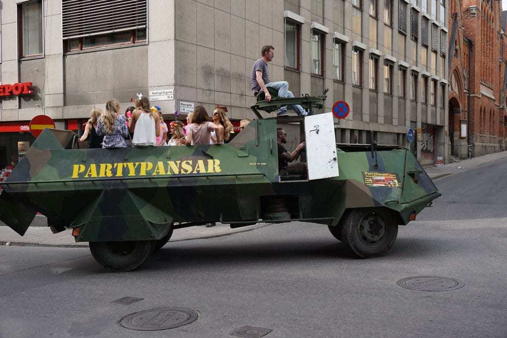 Partypansar
