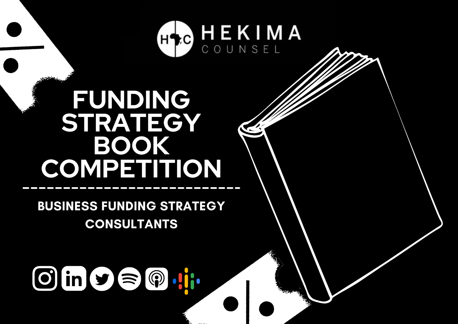 [Book Competition] Funding Strategy
