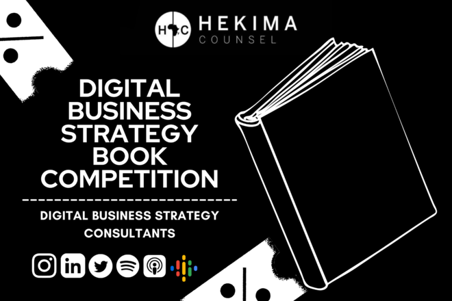 Project with online payment: [Book Competition] Digital Business Strategy