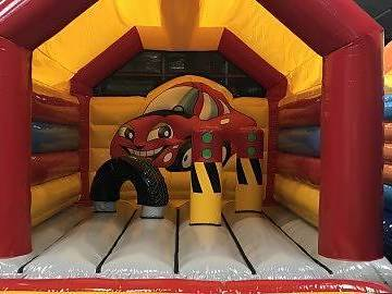 Övrig bokningstyper: Hoppborg bilen