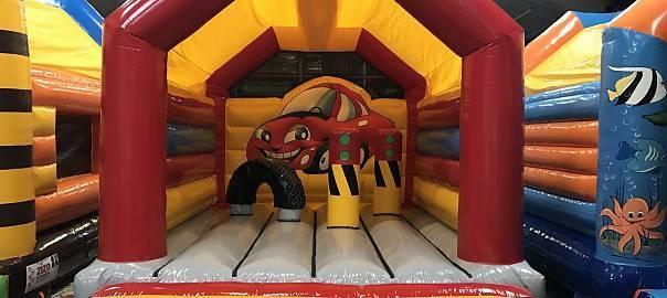 Hoppborg bilen