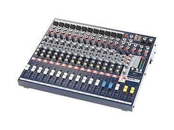 Övrig bokningstyper: Soundcraft EFX 12 (Mixerbord)