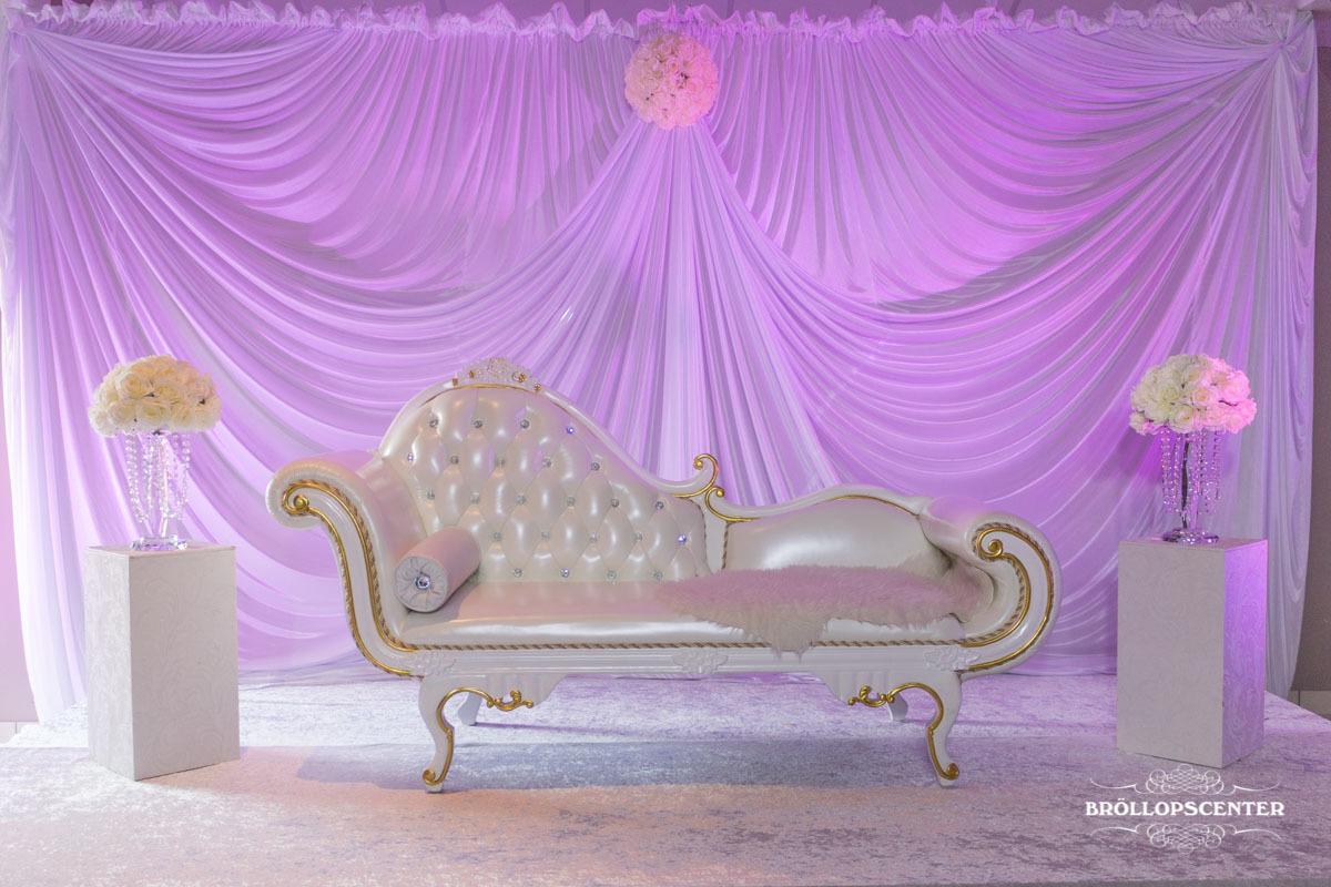 Elegant Soffa Till Ert Bröllop