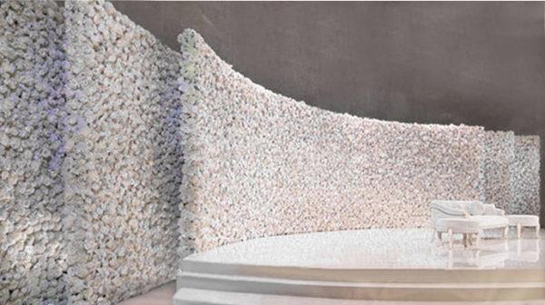 Flower Wall – Blomstervägg till er bröllopsdag 4m – 12m bredd