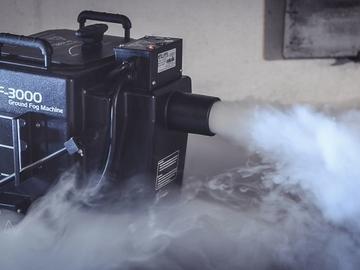 Övrig bokningstyper: Rökmaskin / tungrökmaskin till första dansen – Ice fogger