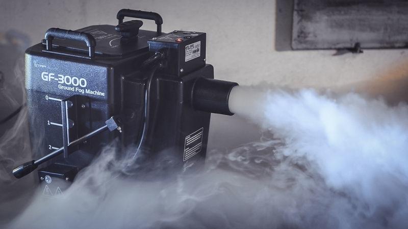 Rökmaskin / tungrökmaskin till första dansen – Ice fogger