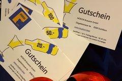 Produkte: Gutschein der MÜKON Brauerei