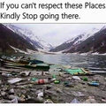 Travel queries: Respect the place