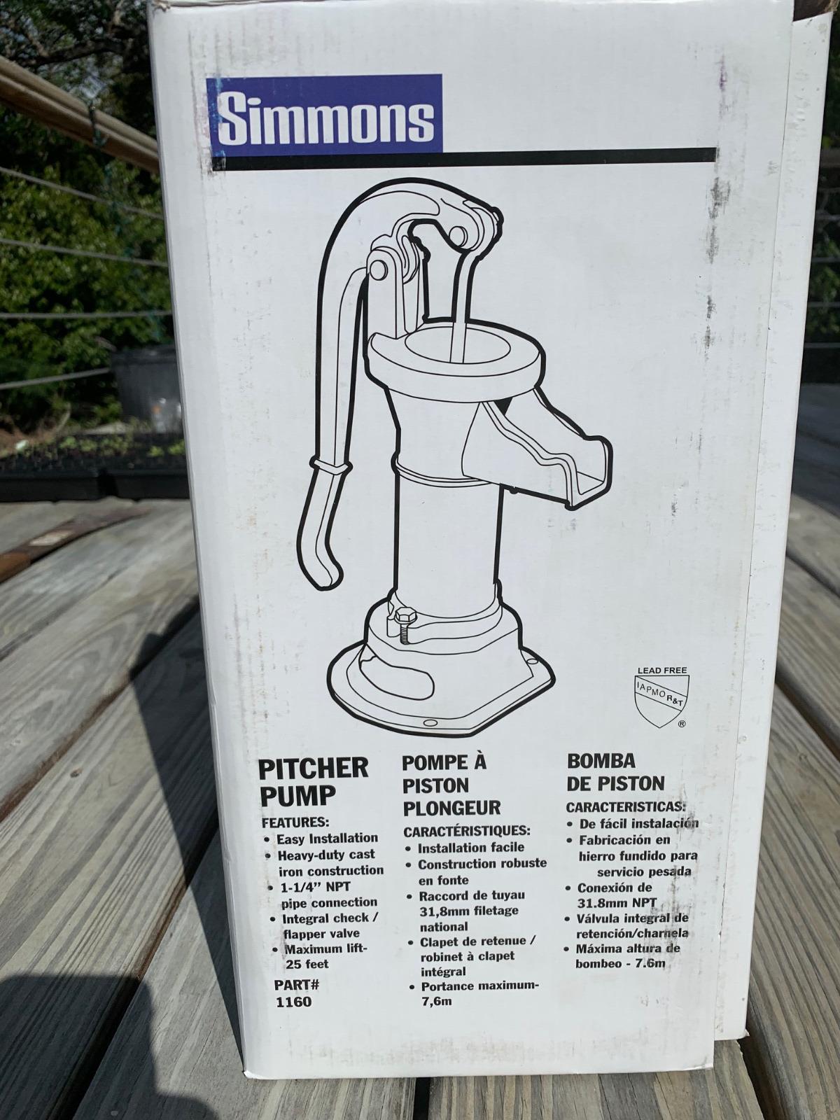 Well Hand Pump