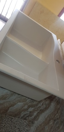 White Granite Sink