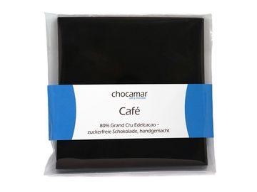 Produkte: Café zuckerfreie Schokolade 60g, 100% handgemacht