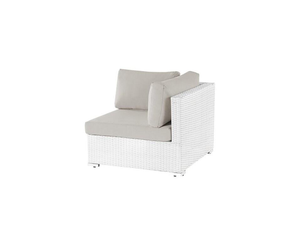 Loungemodul hörn vit