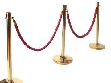 Övrig bokningstyper: Entrérep röd/mässing sammet