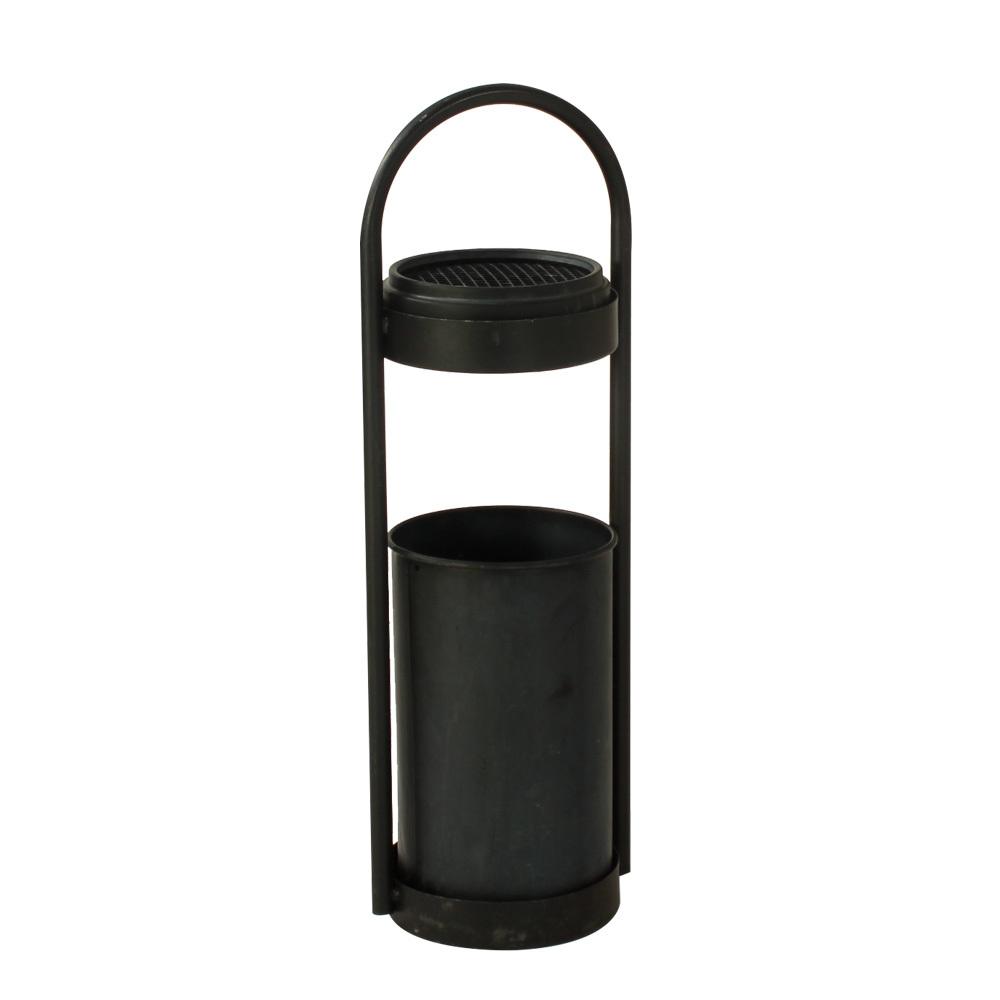 Askfat golvmodell svart