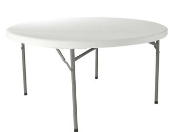 Övrig bokningstyper: Bord rund Ø152x74cm (DxH)