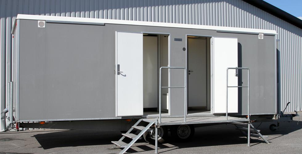 Toalettvagn Lyx