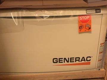 Sell: 9kw Generator & ATS