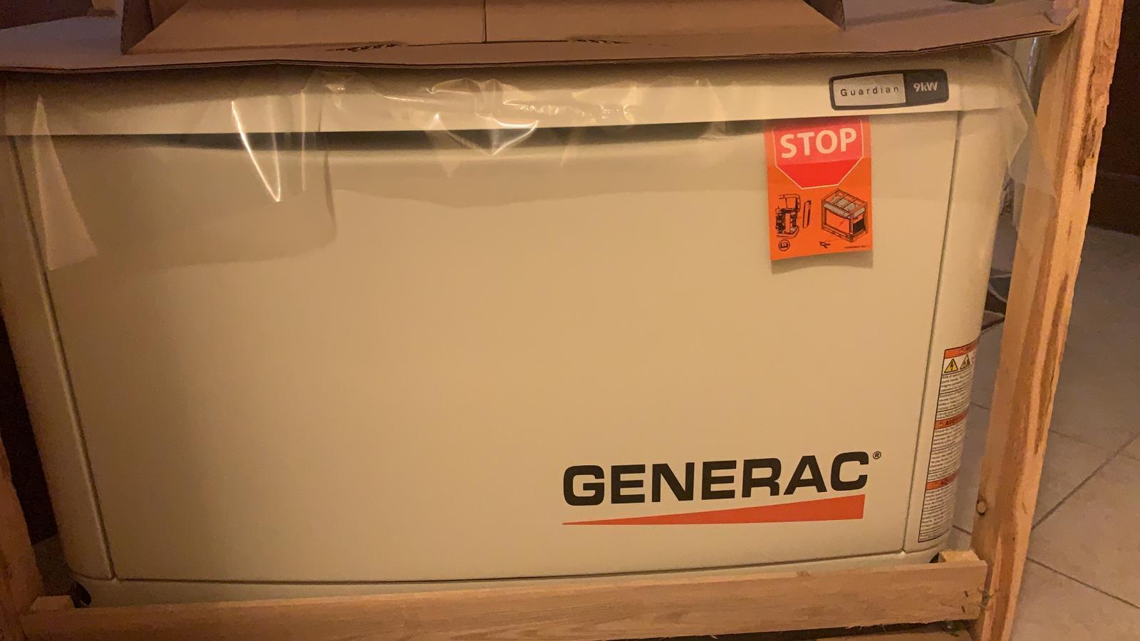 9kw Generator & ATS