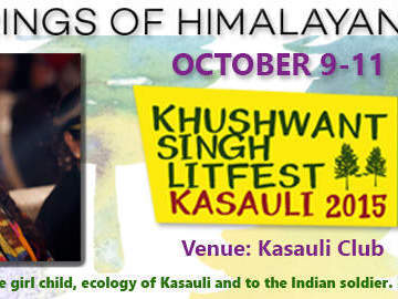 Events: KHUSHWANT SINGH LITERARY FESTIVAL