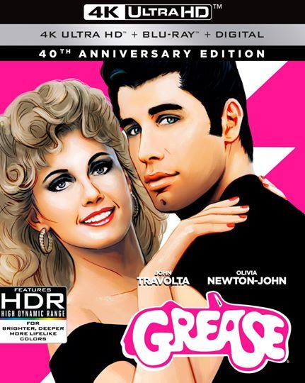 Grease (40th Anniversary Edition) (4K Ultra HD) Close