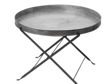 Övrig bokningstyper: Lågt & stor loungebord i zink