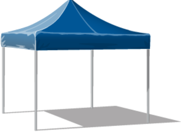Other booking types: Partytält 3x3 m