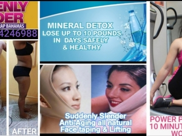 Service: Suddenly Slender Mineral & Detox Body Wraps