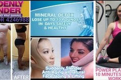 Service: Suddenly Slender Mineral & Detox Body Wraps