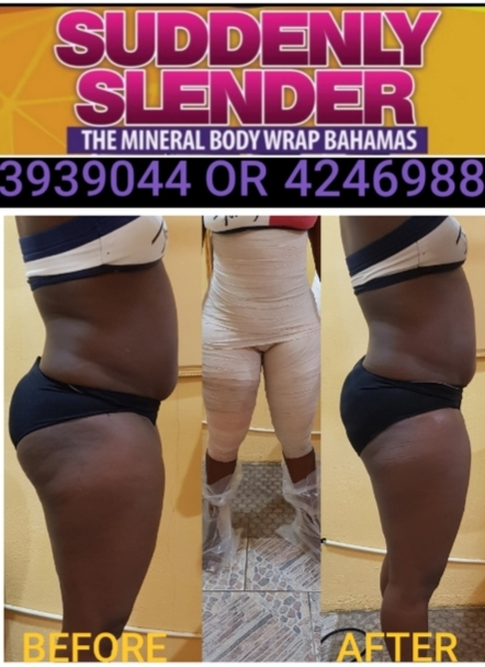 Suddenly Slender Mineral & Detox Body Wraps