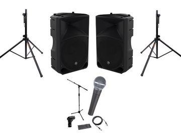 Other booking types: Ljudpaket + mikrofon med inbyggt bas