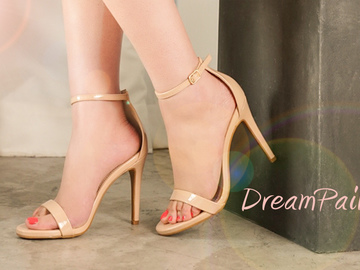 Selling:  DREAM PAIRS Women's Karrie High Stiletto Pump Heel Sandals