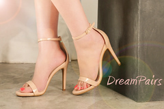 Selling:  DREAM PAIRS Women's Karrie High Stiletto Pump Heel Sandals