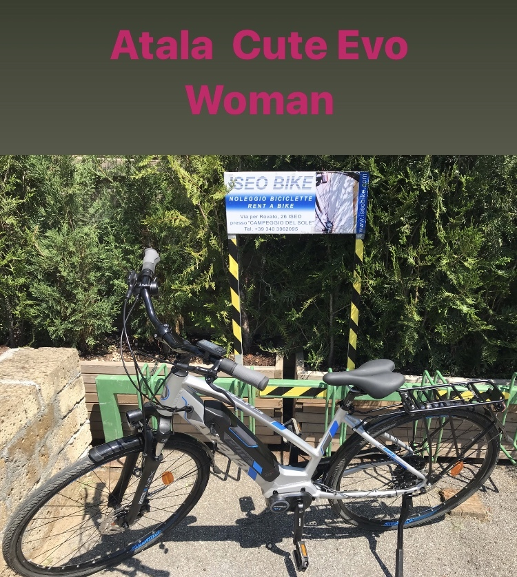 ATALA CUTE EVO - Noleggio bici Lago d'Iseo