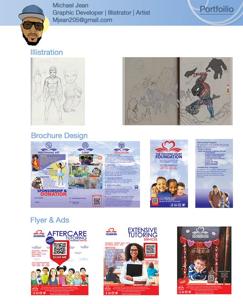 Print Design & Illustration with Michael
