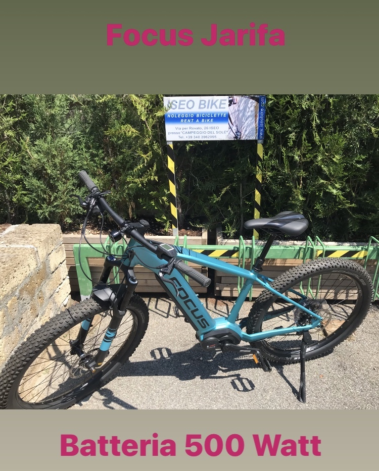 FOCUS JARIFA - Noleggio bici Lago d'Iseo