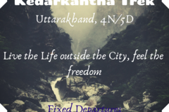 Create an event: Kedarkantha Trek