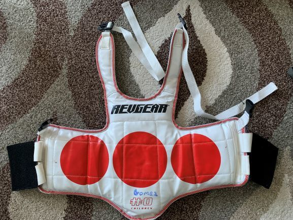 Youth Sparring Chest protector, Headgear and Shin Guards